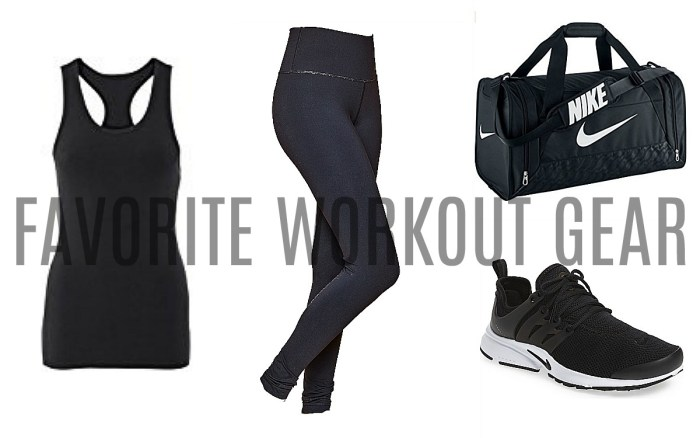 FAVORITE WORKOUT GEAR