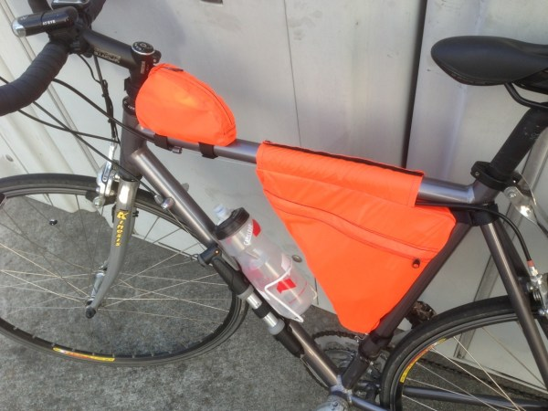 Homemade Bike Frame Bags Amy Qian
