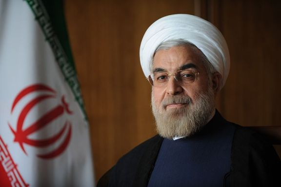 Official Iranian government photo of President Hassan Rouhani
