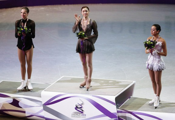 2013 Worlds podium Flickr { QUEEN YUNA } - Copy