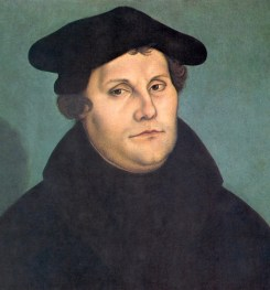 Martin Luther by Lucas Cranach the Elder, 1533