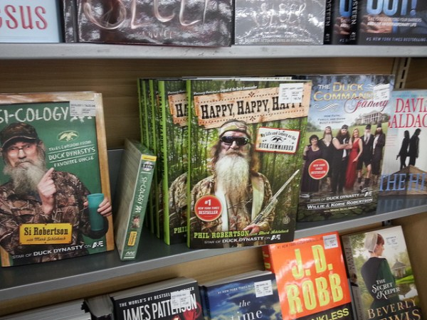 Duck Dynasty books on sale in October 2013.  Flickr photo by Corey Seeman