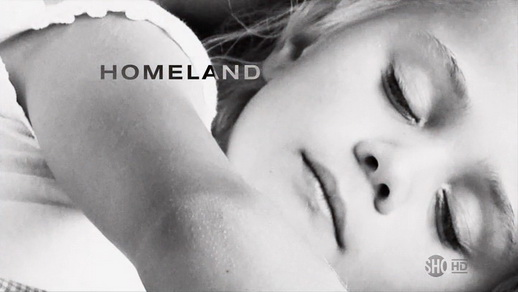 "The opening logo for the TV series ""Homeland"", copyright Showtime.  This single screen shot of an official logo is being used for commentary purposes only."