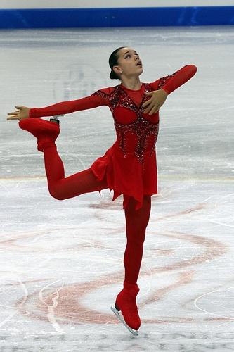 Adelina Sotnikova At The 2012 World Junior Figure Skating Championship Photo By Wikipedia User David W Carmichael