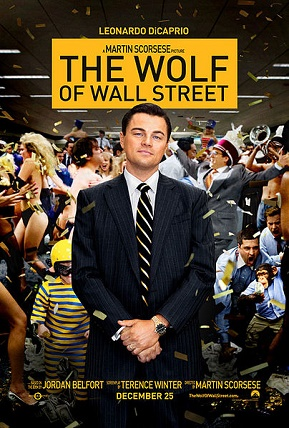 """The Wolf of Wall Street"" did better than pretty much anyone expected.  Movie poster copyright Paramount Pictures, used for commentary purposes only."