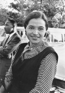 US government archive photo of Rosa Parks