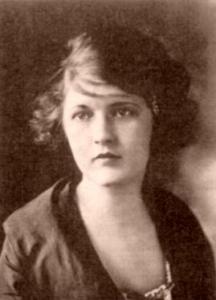 Portrait taken of Zelda Fitzgerald in 1919