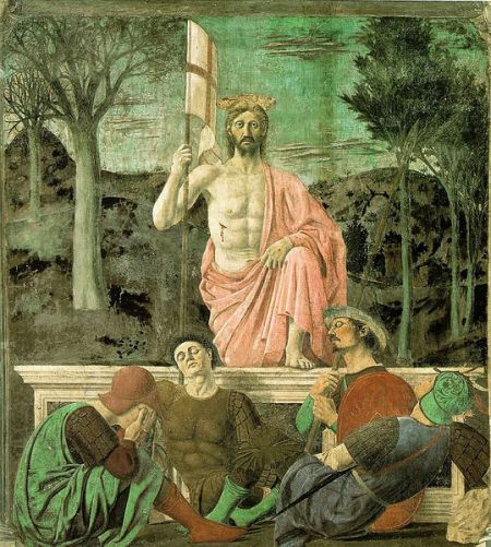 """The Resurrection of Jesus Christ"" by PIero della Francesca, circa 1463"