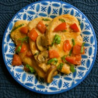 Chicken Chasseur from My Beverly Hills Kitchen by Alex Hitz