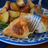 Spring Entertaining Made Easy With Herbed Goat Cheese Chicken