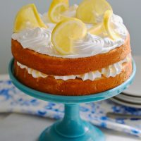When Life Gives You Lemons Make Lemon Cake