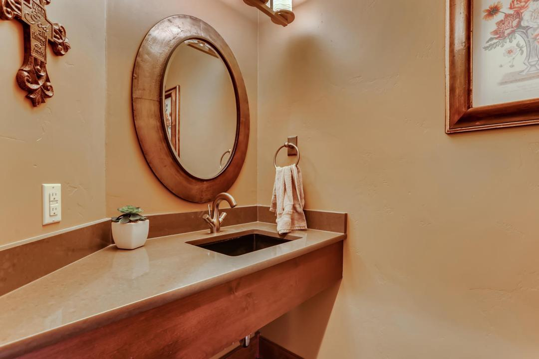 312 Shores Large Powder Room