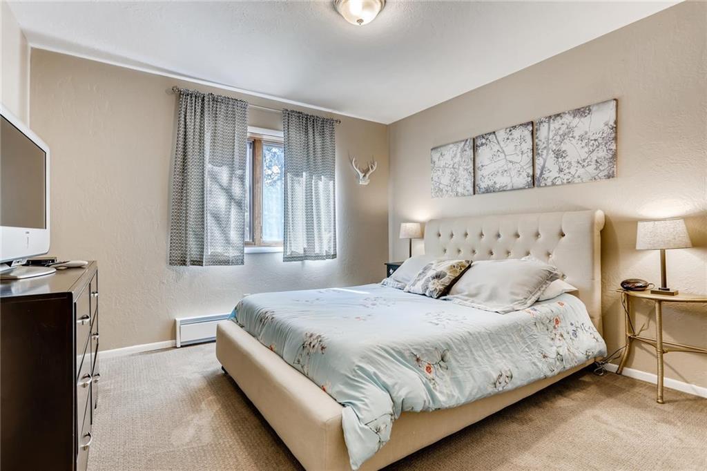Breckenridge Condo Master Bedroom
