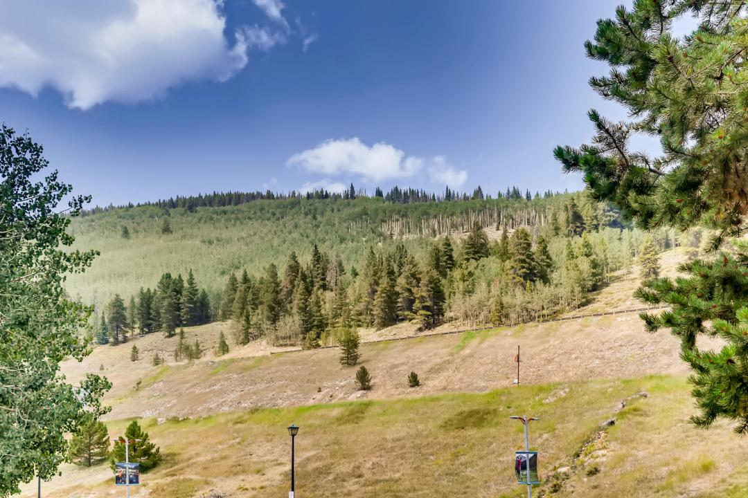 Coper Mountain Condo View of Slopes