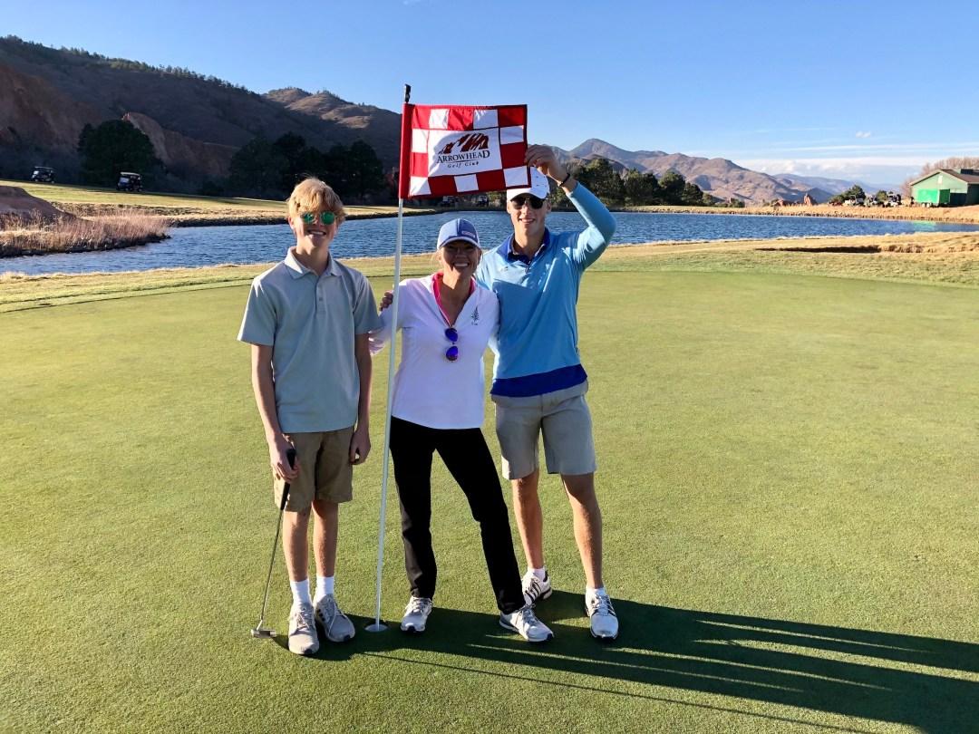 golfing in breckenridge