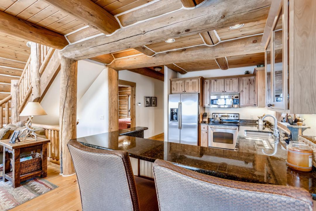 breckenridge real estate home for sale kitchen