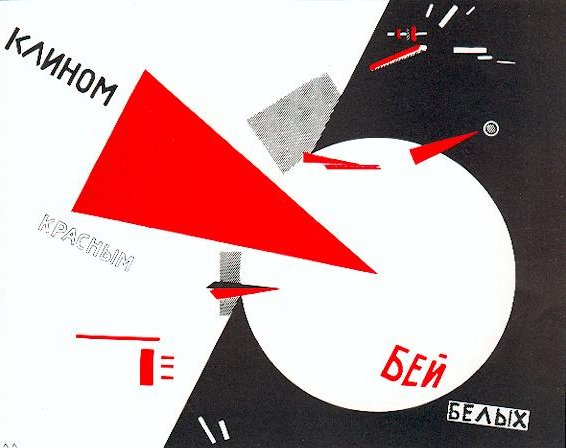 Beat the Whites with a Red Wedge - El Lisitsky 1919
