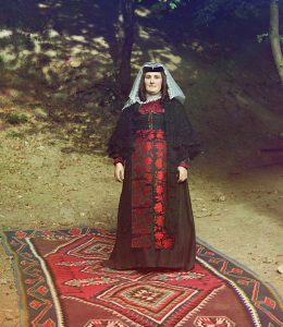 Georgian Woman from Prokudin-Gorskii collection