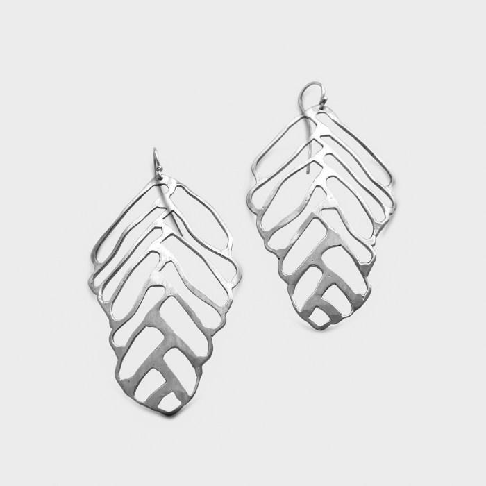 Amy Nordstrom - Leaf Earrings Sterling