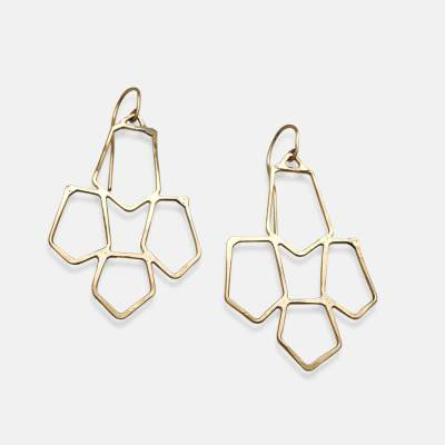 Gold Marrakech Earrings - Amy Nordsrom Handcrafted Jewelry
