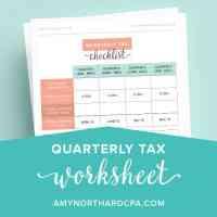 Estimated Tax Worksheet Calculator - Kidz Activities