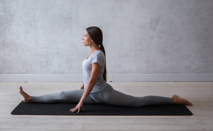 yoga stretches for the splits