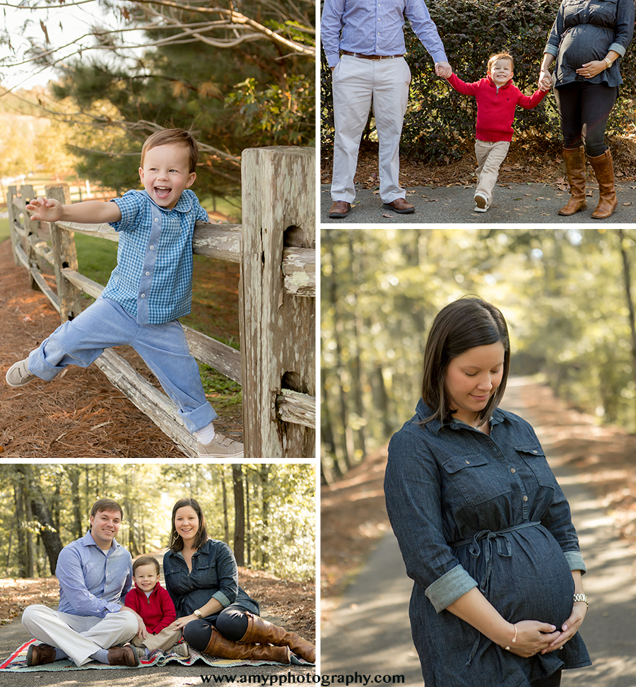 fun patterson family maternity outdoor session