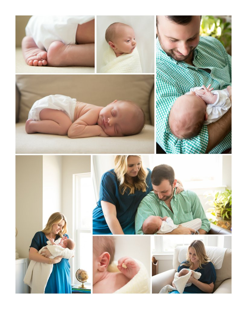 Hamilton Family photo session at their home