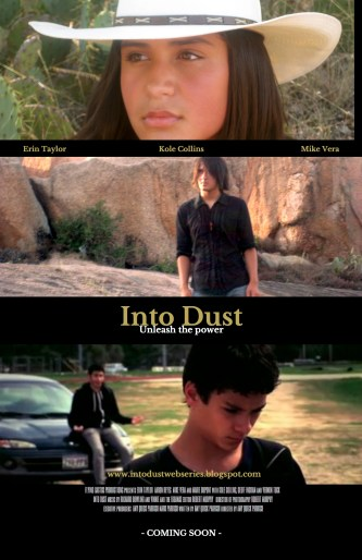 INTO DUST SERIES POSTER