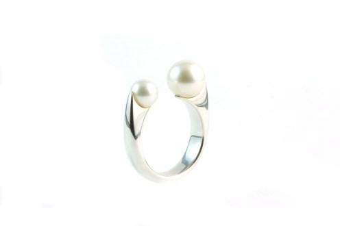Pearl 3, 2011, 925 silver, pearls