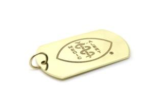 Custom Life Saver, 2016, 9ct yellow gold