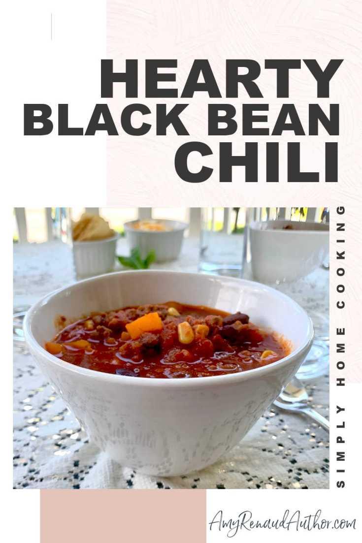 Hearty Black Bean Chili