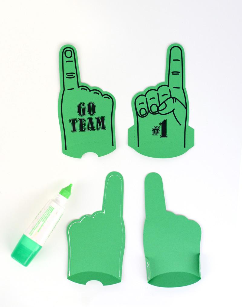 foam finger tutorial