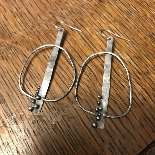 Assymetrical earrings