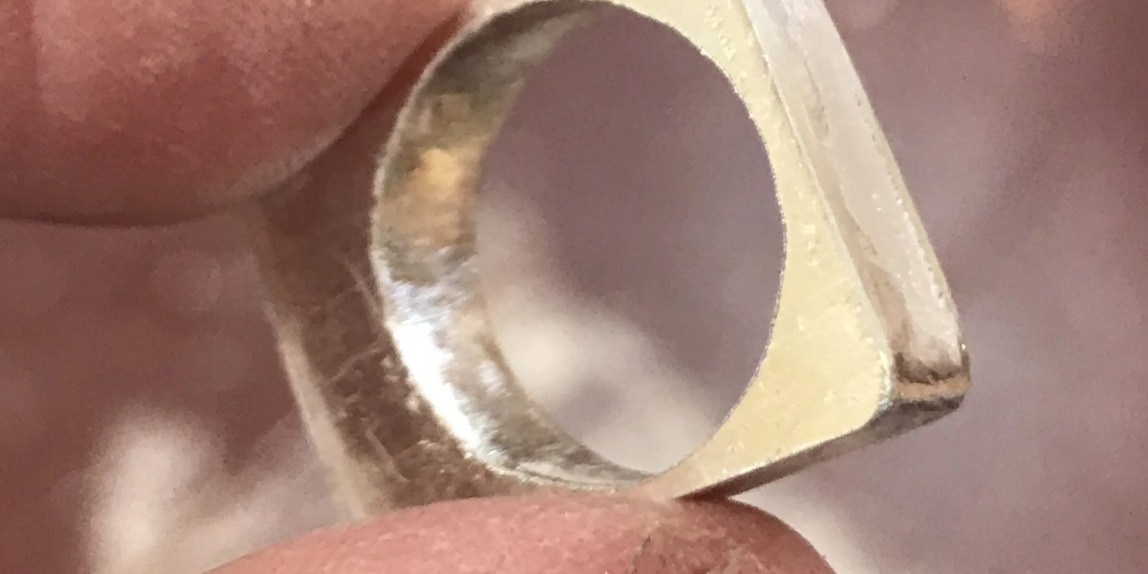 Creating a hollow form ring