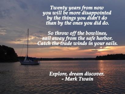 Explore. dream, discover