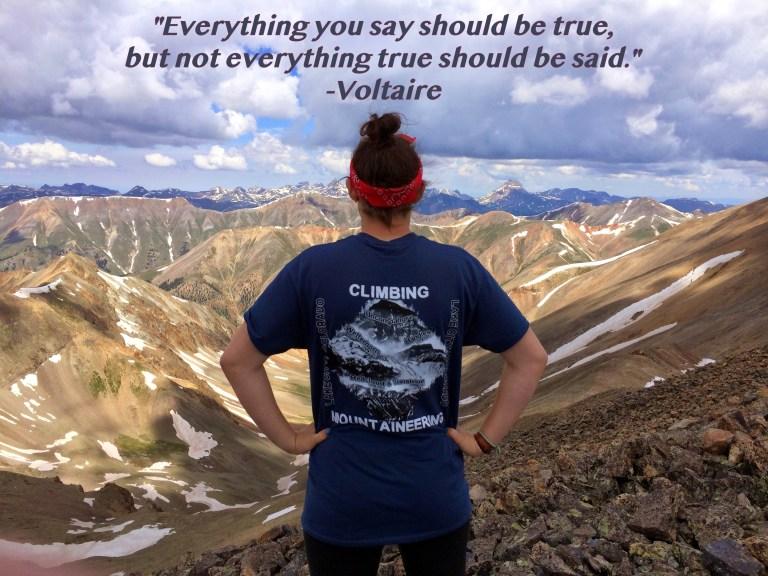 Everything True Voltaire
