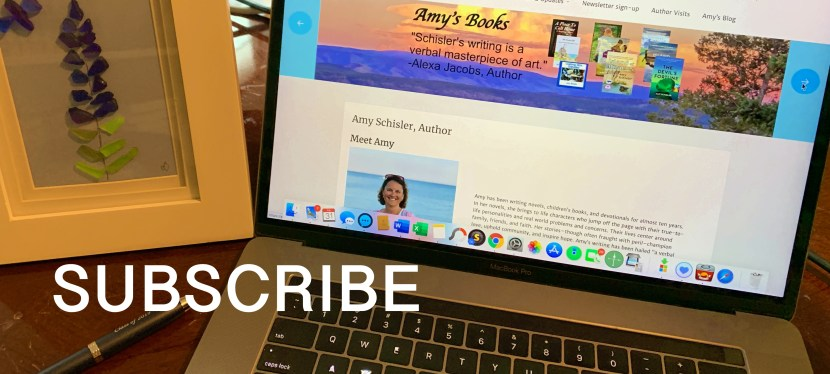 Subscribe to Amy's Newsletter