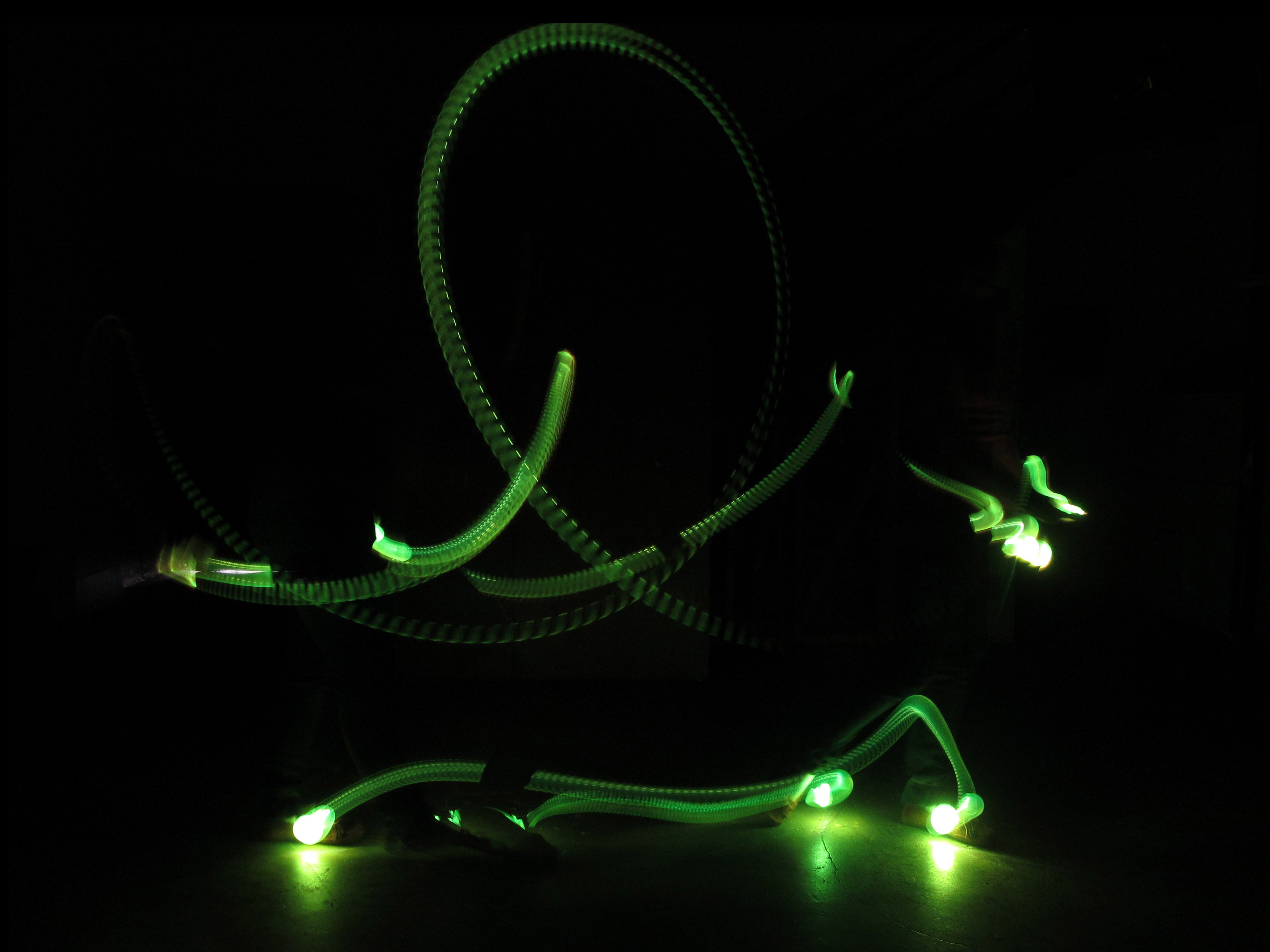 Light Painting Performing Everyday Movements 9 12