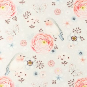 Katoen - Snoozy Wilde bloem