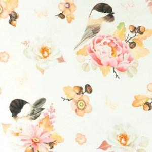 Tricot - Nature Bird-flower