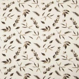 Tricot - Qjutie bedrukt Leaves Taupe