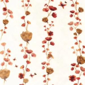 Tricot - Snoozy Aqua bloemetjes