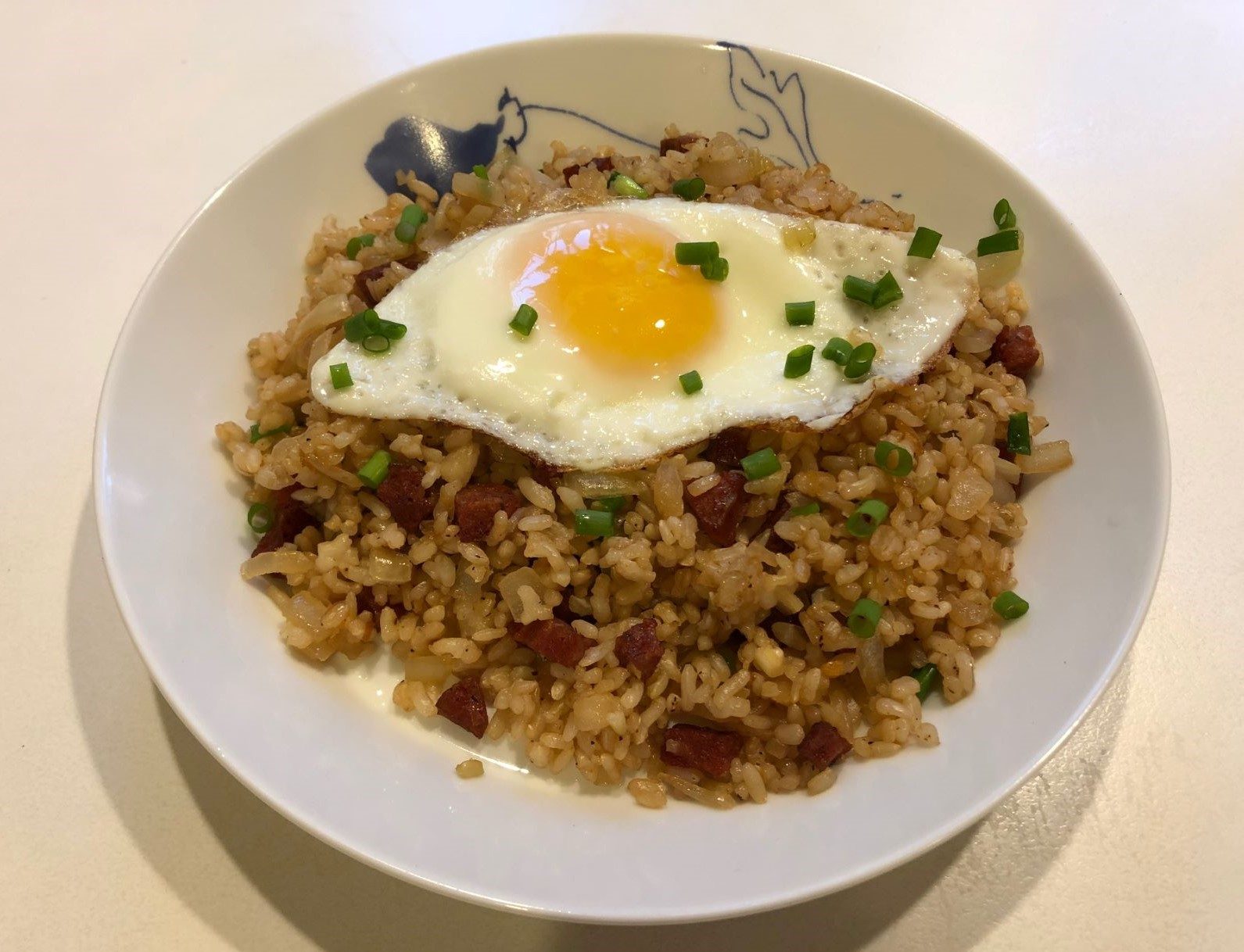 Hawaiian Portuguese Sausage Fried Rice - Amy's Delicious ...