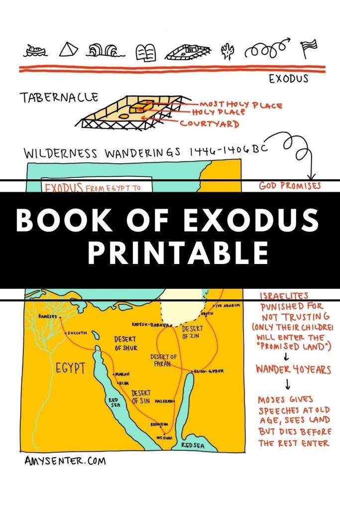Exodus printable