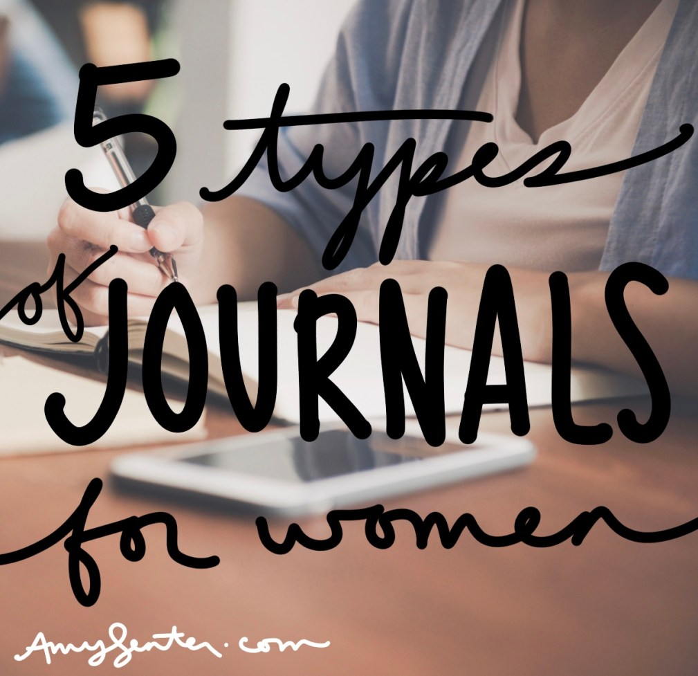 5 Types of Beautiful Journals for Women