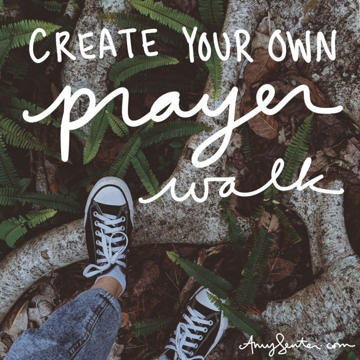 How to Create Your Own Prayer Walk Using the Psalms