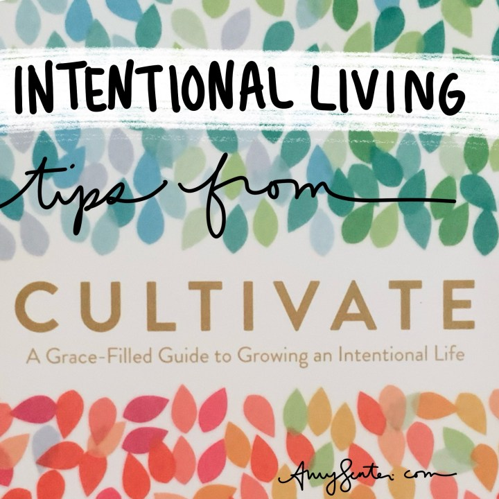 """What I Learned About Intentional Living from """"Cultivate"""" by Lara Casey"""