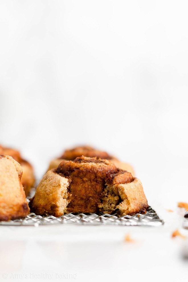 Best Easy Healthy Homemade Low Fat Low Calorie Vegan Orange Cinnamon Rolls