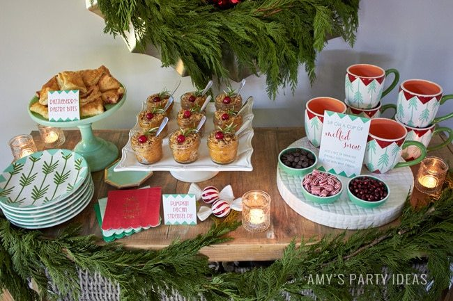 Holiday Open House Amy's Party Ideas